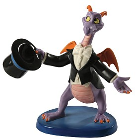 WDCC Disney Classics_Figment Top Hat and Tails Signed By Bruce Lau