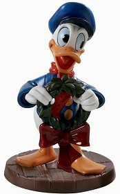 WDCC Disney Classics_Mickeys Christmas Carol Donald Duck Festive Fellow