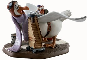 WDCC Disney Classics_The Rescuers Orville Bernard And Miss Bianca Cleared For Take Off