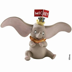 WDCC Disney Classics_Dumbo, Timothy Mouse And Jiminy Cricket Spell It Out