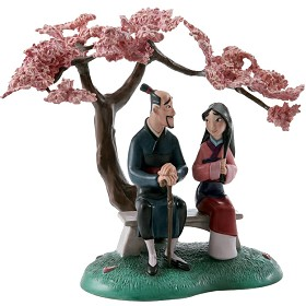 WDCC Disney Classics_Mulan And Father When It Blooms It Will Be The Most Beautiful Of All