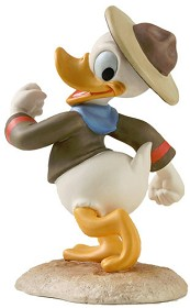 WDCC Disney Classics_Good Scouts Donald Duck Happy Camper