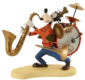 WDCC Disney Classics_Mickey Mouse Club Goofy One Man Band