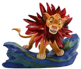 WDCC Disney Classics_The Lion King Simba Little King Big Roar