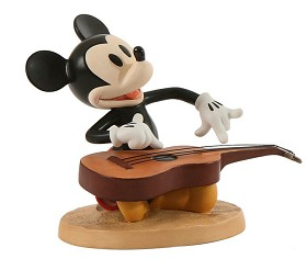 WDCC Disney Classics_HawaIIan Holiday Mickey Mouse HawaIIan Harmony