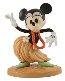 WDCC Disney Classics_HawaIIan Holiday Minnie Mouse Swaying Sweetheart