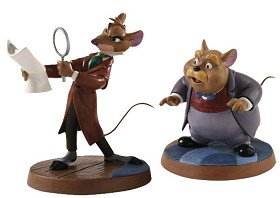 WDCC Disney Classics_The Great Mouse Detective Basail & Dr Watson Curious Clue