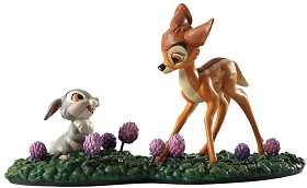WDCC Disney Classics_Bambi Meets Thumper Just Eat The Blossoms. Thats The Good Stuff