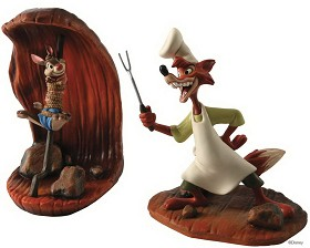 WDCC Disney Classics_Song Of The South Brer Rabbit And Brer Fox Cooking Up A Plan