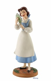 WDCC Disney Classics_Beauty And The Beast Belle (with Mirror) He's Really Kind And Gentle He's My Friend