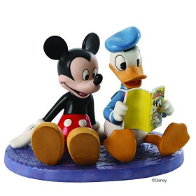 WDCC Disney Classics_Donald And Mickey Comic Book Companions
