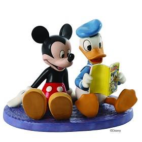 WDCC Disney Classics_Donald And Mickey Comic Book Companions