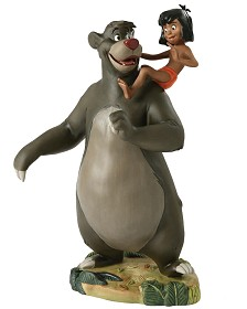 WDCC Disney Classics_The Jungle Book  Baloo And Mowgli Good Ol Papa Bear