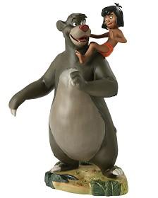 WDCC Disney Classics_The Jungle Book  Baloo And Mowgli Good Ol Papa Bear