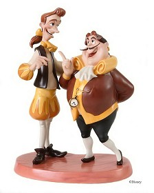 WDCC Disney Classics_Beauty And The Beast Cogsworth & Lumiere