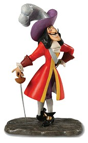 WDCC Disney Classics_Peter Pan Captain Hook Silver Tongued Scoundrel