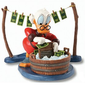 WDCC Disney Classics_Uncle Scrooge Laundry Day