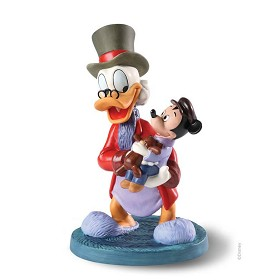 WDCC Disney Classics_Classic Cartoons Scrooge and Tiny Tim Tidings of Joy and Goodwill