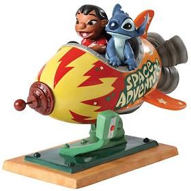 WDCC Disney Classics_Lilo and Stitch Storefront Spaceship