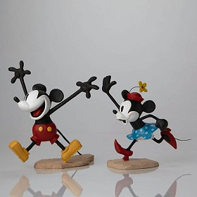 Walt Disney Archives_Mickey and Minnie Color Maquettes