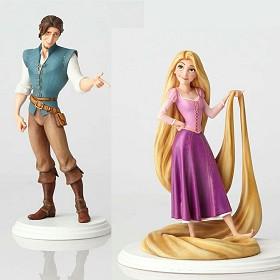 Walt Disney Archives_Rapunzel & Flynn Rider Maquette From Tangled