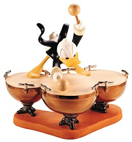WDCC Disney Classics_Symphony Hour Donald Duck Donald's Drum Beat