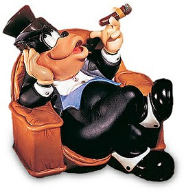 WDCC Disney Classics_Symphony Hour Sylvester Macaroni