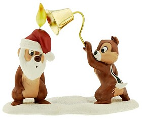 WDCC Disney Classics_Plutos Christmas Tree Chip N' Dale (1997) Includes Santa