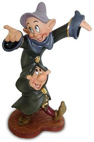 WDCC Disney Classics_Snow White Dopey And Sneezy Dancing Partners