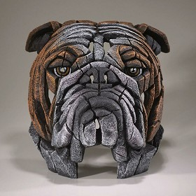 Enesco EDGE_Bull Dog Bust
