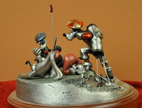 Disney Chilmark_Foursome Follies Pewter