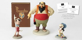 Walt Disney Archives_Stromboli & Pinocchio & Jiminy Cricket Marquette From Pinocchio