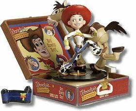 WDCC Disney Classics_Toy Story 2 Jessie Bullseye And Plaque