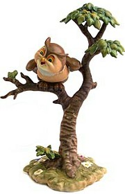 WDCC Disney Classics_Bambi Friend Owl What's Going On Around Here