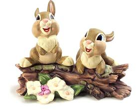 WDCC Disney Classics_Bambi Thumper's Sisters Hello, Hello There