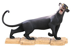 WDCC Disney Classics_The Jungle Book Bagheera Mowgli's Protector