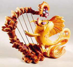 WDCC Disney Classics_The Little Mermaid Carp Classical Carp