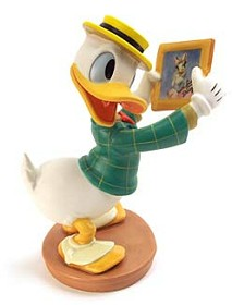 WDCC Disney Classics_Mr Duck Steps Out Donald Duck With Love From Daisy