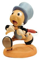 WDCC Disney Classics_Pinocchio Jiminy Cricket Wait For Me, Pinoke