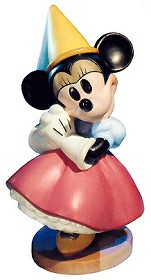 WDCC Disney Classics_Brave Little Taylor Minnie Mouse Princess Minnie