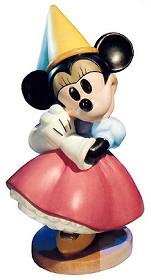 WDCC Disney Classics_Brave Little Taylor Minnie Mouse Princess Minnie
