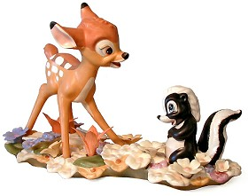WDCC Disney Classics_Bambi & Flower He Can Call Me A Flower