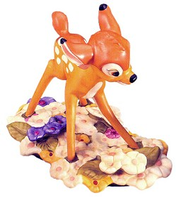 WDCC Disney Classics_Bambi Purty Flower