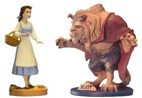 WDCC Disney Classics_Beauty And The Beast Maquette