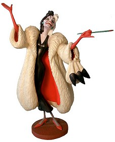 WDCC Disney Classics_One Hundred and One Dalmatians Cruella De Vil Anita Daahling