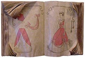 WDCC Disney Classics_Cinderella's Sewing Book