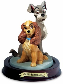 WDCC Disney Classics_Lady And The Tramp Lady And Tramp Opposites Attract