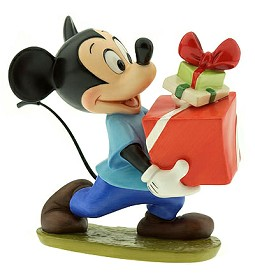 WDCC Disney Classics_Plutos Christmas Tree Mickey Presents For My Pals
