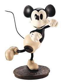 WDCC Disney Classics_The Delivery Boy Mickey Mouse Hey Minnie, Wanna Go Steppin