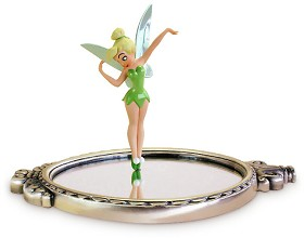 WDCC Disney Classics_Peter Pan Tinker Bell With Mirror Pauses To Reflect (animator Choice)